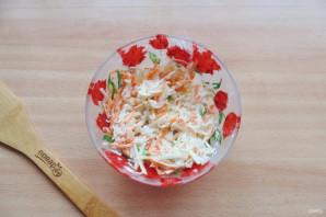 Салат из редьки, яблока и моркови - фото шаг 7