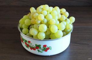 Сушка винограда в электросушилке - фото шаг 1
