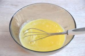 Лимонный торт с белковым кремом - фото шаг 12
