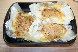 Стейки с грибами и сыром - фото шаг 16