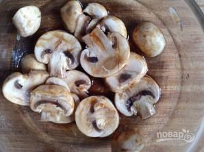 Салат из куриной грудки с грибами - фото шаг 3