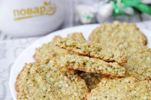 Овсяное печенье без муки и масла - фото шаг 8