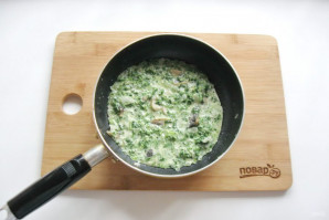 Паста со шпинатом в сливочном соусе - фото шаг 6