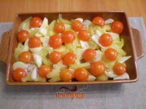 Курица в духовке с овощами и картофелем - фото шаг 4
