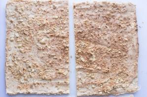 "Торт ""Сникерс"" с арахисом - фото шаг 11"