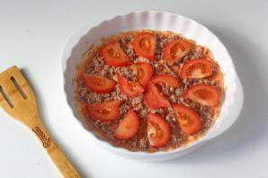 Пицца с тушенкой - фото шаг 7