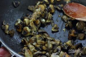 Салат с фасолью и шампиньонами - фото шаг 5