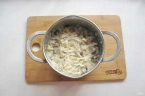 Удон в сливочном соусе - фото шаг 9