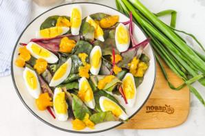 Салат из листьев свеклы - фото шаг 4
