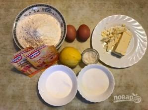 """Лимонное печенье """"Снежное"""" - фото шаг 1"""