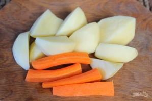 Овощной суп-пюре с брынзой - фото шаг 2