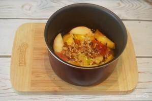 Варенье из яблок и грецких орехов в мультиварке - фото шаг 3
