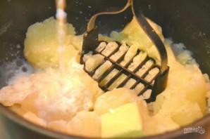 Пюре из картофеля с жареным луком - фото шаг 7