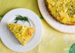 Пирог из картофеля и копченого лосося - фото шаг 7