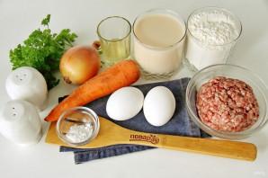 Пирог с мясом в мультиварке - фото шаг 1