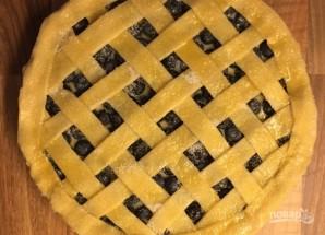 Пирог с лаймом и черникой - фото шаг 8