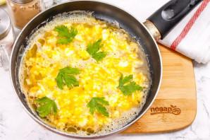Омлет с сыром рикотта - фото шаг 5