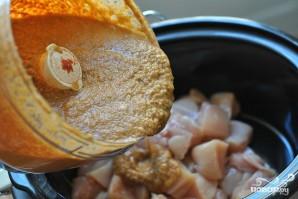 Курица с овощами и кокосовым молоком - фото шаг 3