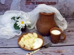 Ленивые творожно-рисовые вареники с сыром - фото шаг 5