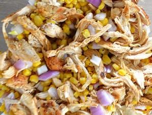 Тостадос с курицей и овощами - фото шаг 4