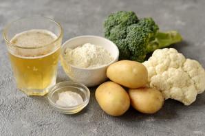 Овощи в пивном кляре - фото шаг 1