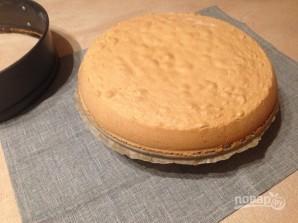 Бисквитный торт с лимонным вкусом - фото шаг 4