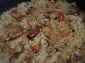 Рис по-восточному с курицей - фото шаг 9