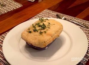 Куриный пирог в горшочке - фото шаг 11