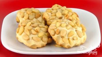 Печенье с кедровыми орешками - фото шаг 6