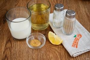 Домашний майонез на молоке - фото шаг 1