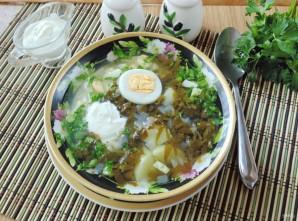 Холодный щавелевый суп - фото шаг 11