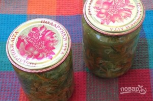 Огуречный салат на зиму - фото шаг 3
