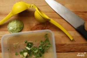 Такос с рыбой и салатом - фото шаг 1