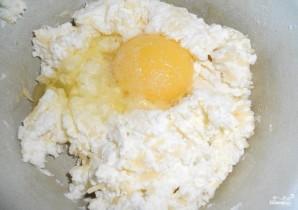 Творожная запеканка с сыром - фото шаг 2