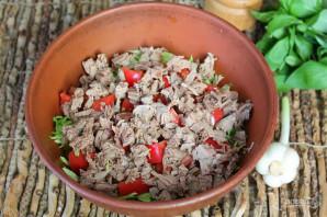 Салат из капусты с говядиной - фото шаг 5