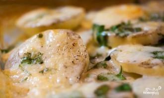 Картофельная запеканка без мяса - фото шаг 5