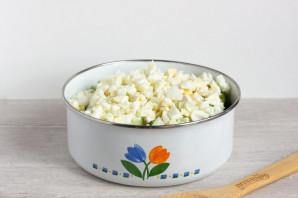 Зеленый салат с пекинской капустой - фото шаг 5