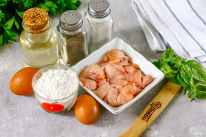 Оладьи из молоки лососевых рыб - фото шаг 1