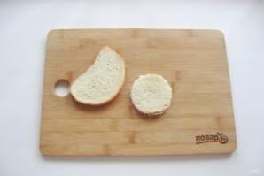 Бутерброды с красной икрой на Новый Год - фото шаг 2