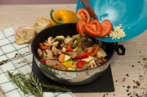 Овощное рагу со свининой - фото шаг 6