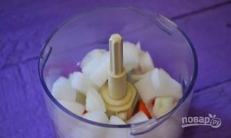 Вегетарианский борщ с фасолью - фото шаг 3