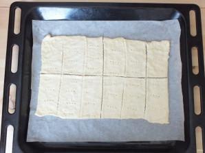 Пирожные с кремом и ягодами - фото шаг 8