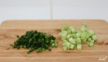 Огуречный суп для похудения - фото шаг 4