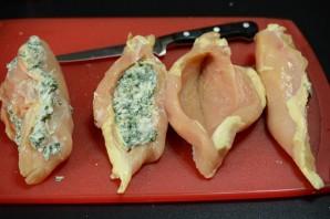 Курица, фаршированная сыром - фото шаг 3