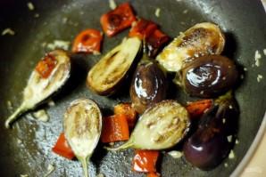 Соте из баклажанов с перцем - фото шаг 4