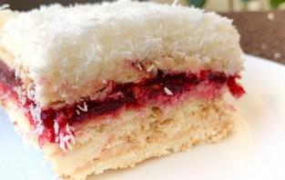 Торт без выпечки с кокосовым кремом - фото шаг 4
