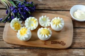 """Вареные яйца на Пасху """"Цыплята"""" - фото шаг 2"""