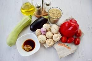 Рис с запеченными овощами - фото шаг 1