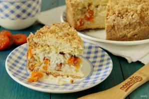 Пирог с рисом, изюмом и курагой - фото шаг 14