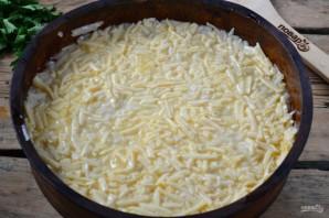 Запеканка из тертого картофеля с сыром и чесноком - фото шаг 8